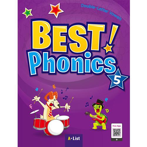 S Best Phonics 5 Student Book (CD 포함)