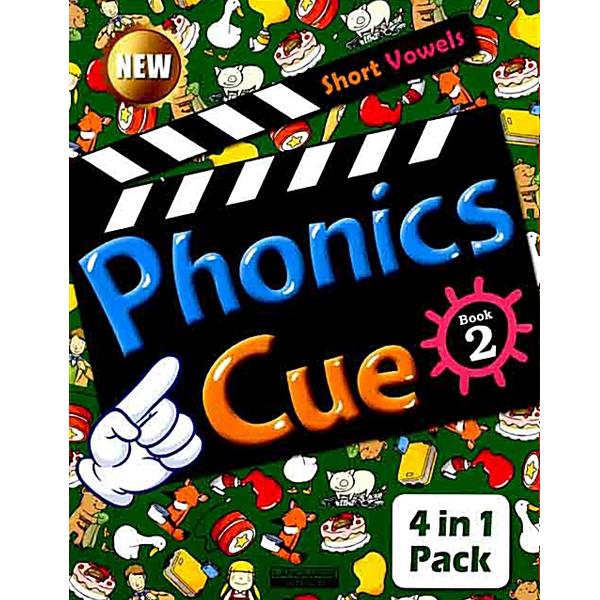 S NEW Phonics Cue 2 Short Vowels (CD 포함)