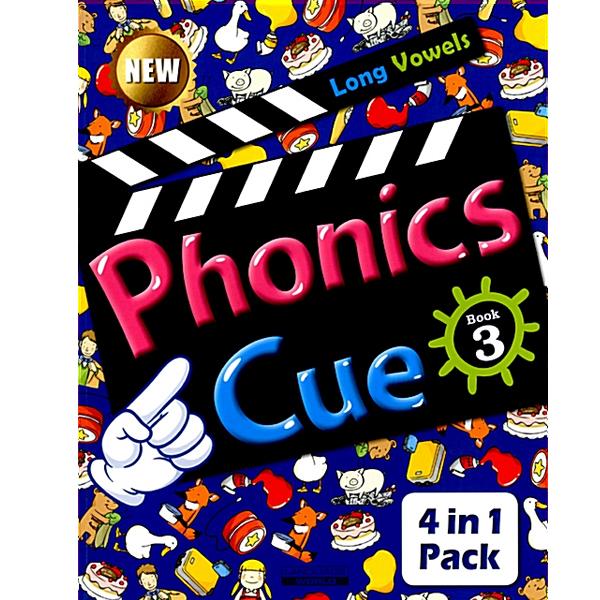 S NEW Phonics Cue 4 Blends (CD 포함)