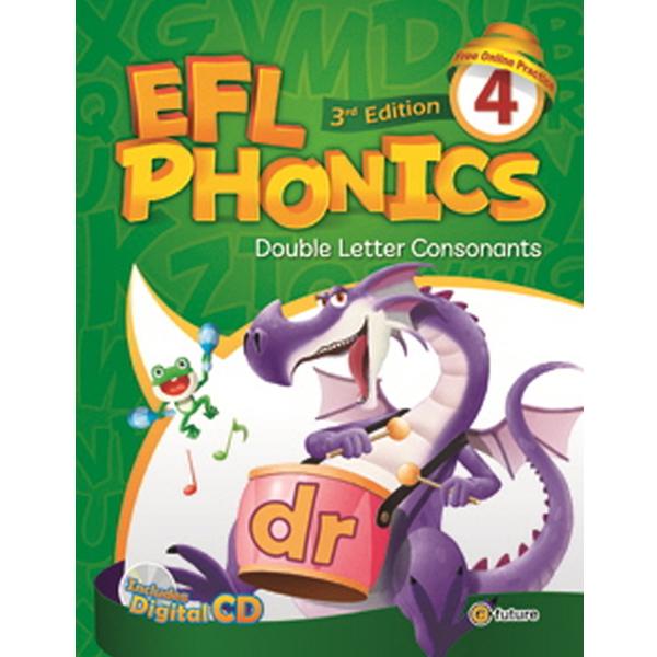S EFL Phonics 4 Student Book (CD 포함)